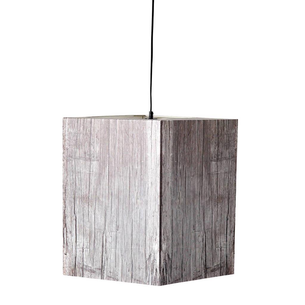 Zuiver Heavy Light hanglamp, Hout grijs
