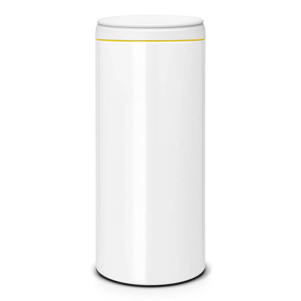 Brabantia FlipBin 30 liter prullenbak, Wit