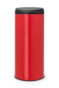 Brabantia FlipBin 30 liter prullenbak, Passion red