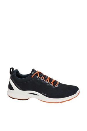 Biom Fjuel  nubuck lage wandelschoenen donkerblauw