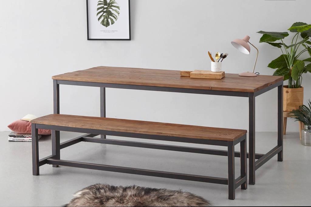 anytime Eettafel Dakota 180 cm, Bruin
