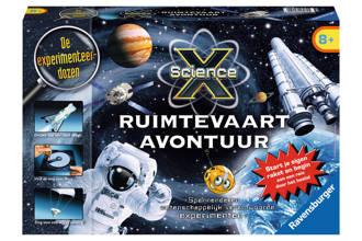 Science X  Ravensburger SienceX ruimtevaart avontuur