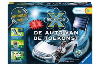 Science X  Ravensburger Science X de auto van de toekomst