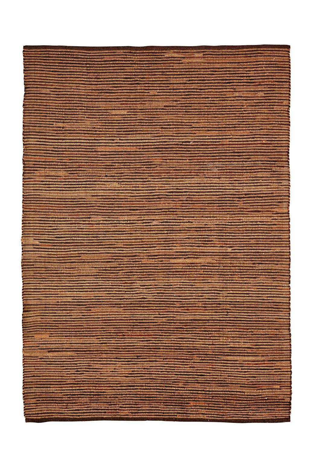 whkmp's own Vloerkleed  (160x230 cm), Grijs/bruin