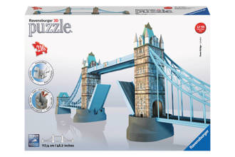 Tower Bridge  3D puzzel 216 stukjes