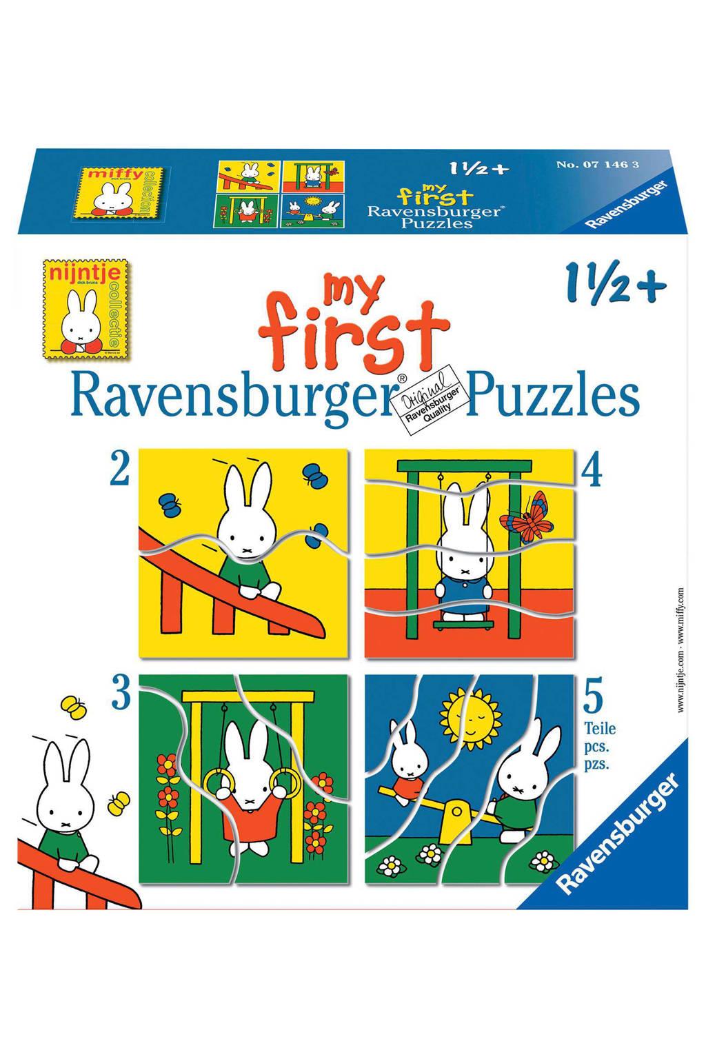 Ravensburger nijntje mijn eerste  legpuzzel 14 stukjes