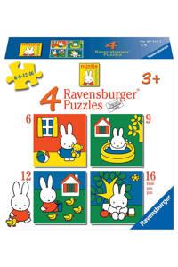 Ravensburger nijntje nijntje  legpuzzel 16 stukjes