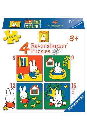 nijntje  legpuzzel 16 stukjes