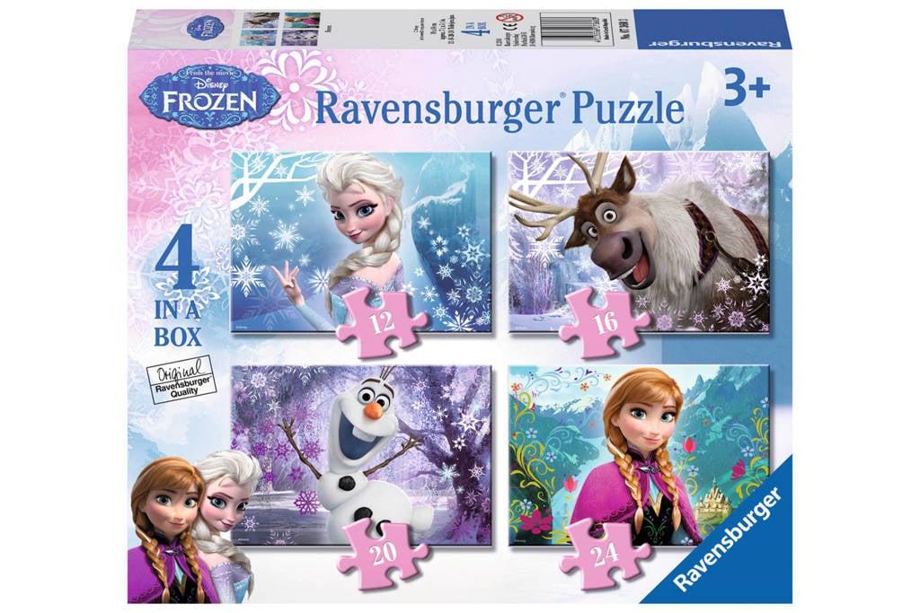 Ravensburger Disney Frozen vier  legpuzzel 72 stukjes