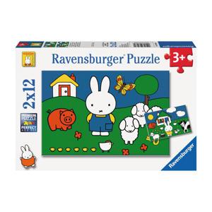 nijntje bij de dieren  legpuzzel 24 stukjes