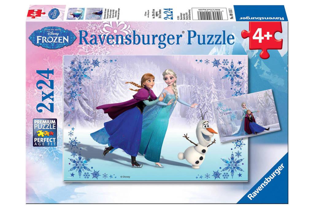 Ravensburger Disney Frozen twee  legpuzzel 48 stukjes