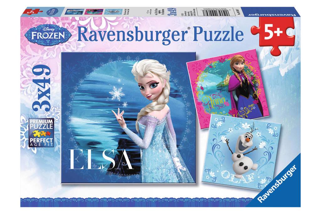 Ravensburger Disney Frozen Elsa Anna en Olaf  legpuzzel 147 stukjes