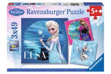 Disney Frozen Elsa Anna en Olaf  legpuzzel 147 stukjes