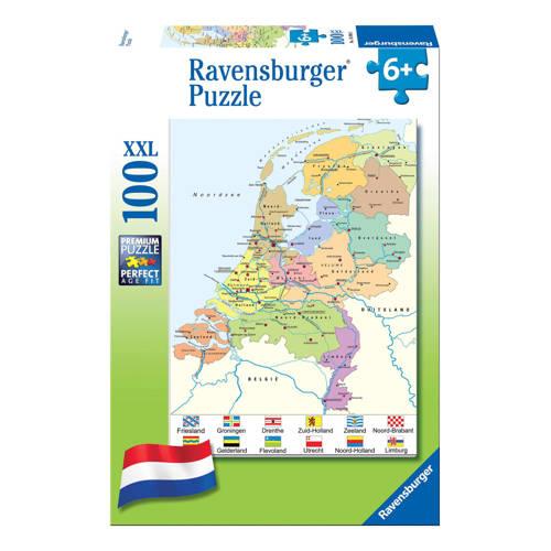 Ravensburger cito landkaart legpuzzel 100 stukjes kopen