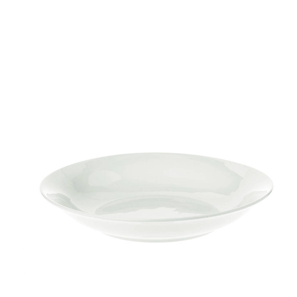 vtwonen diep bord/pastabord (Ø25,5 cm) (set van 2), Wit