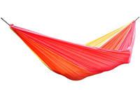 More Than Hip hangmat Single Sunset (290 x 145 cm), Rood, paars, geel