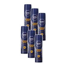 MEN stress protect deodorant spray- voordeelverpakking 5+1 gratis