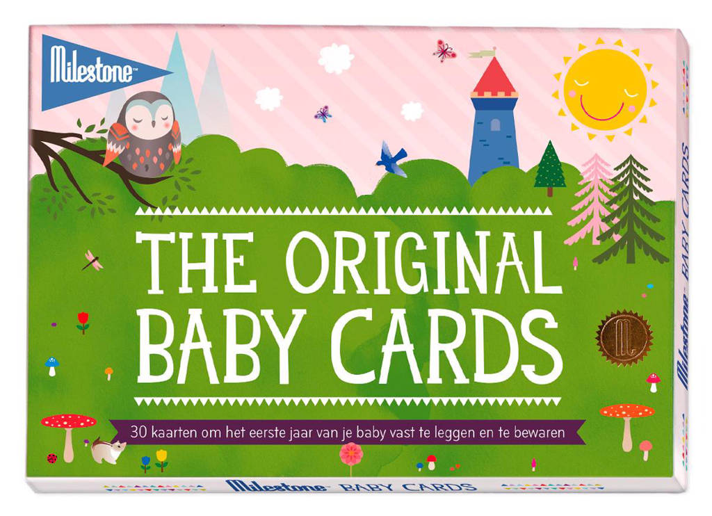 Milestone Baby fotokaarten (30 stuks)
