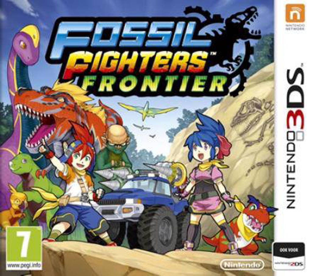 Fossil fighters frontier (Nintendo 3DS)
