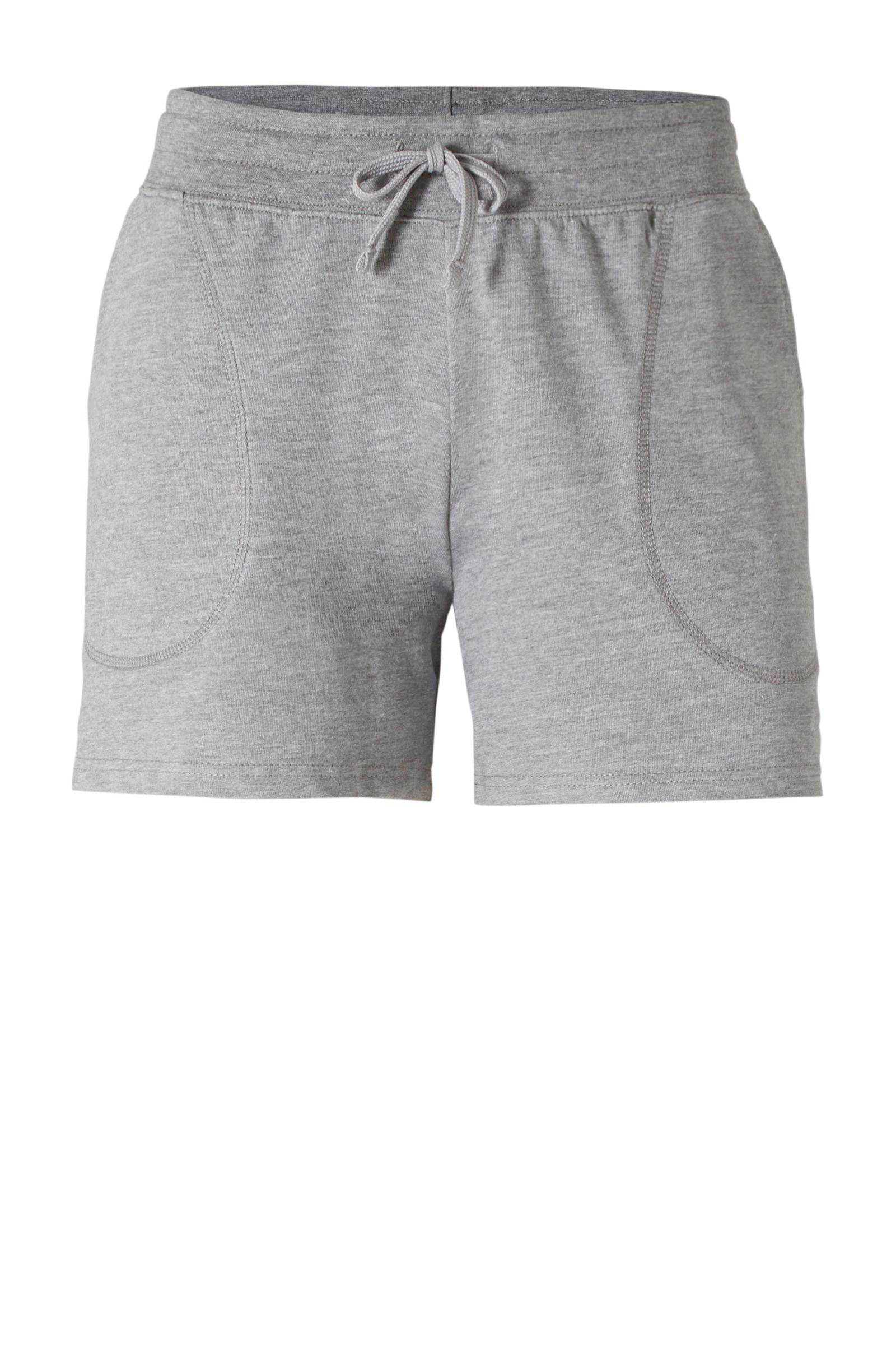 Donnay joggingshort grijs gemeleerd | wehkamp
