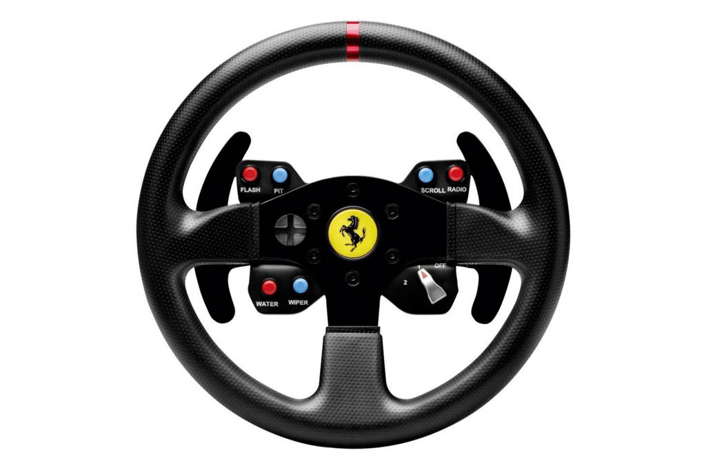 Thrustmaster Ferrari GTE racestuur Add-On (PS4/PS3/Xbox One/Xbox 360/PC