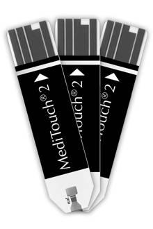 Meditouch 2 teststrips - 50 stuks