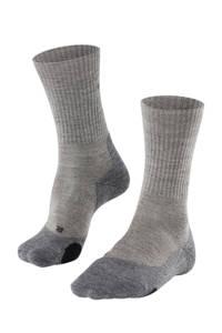 Falke Sport   TK2 Wool wandelsokken, Grijs/zwart