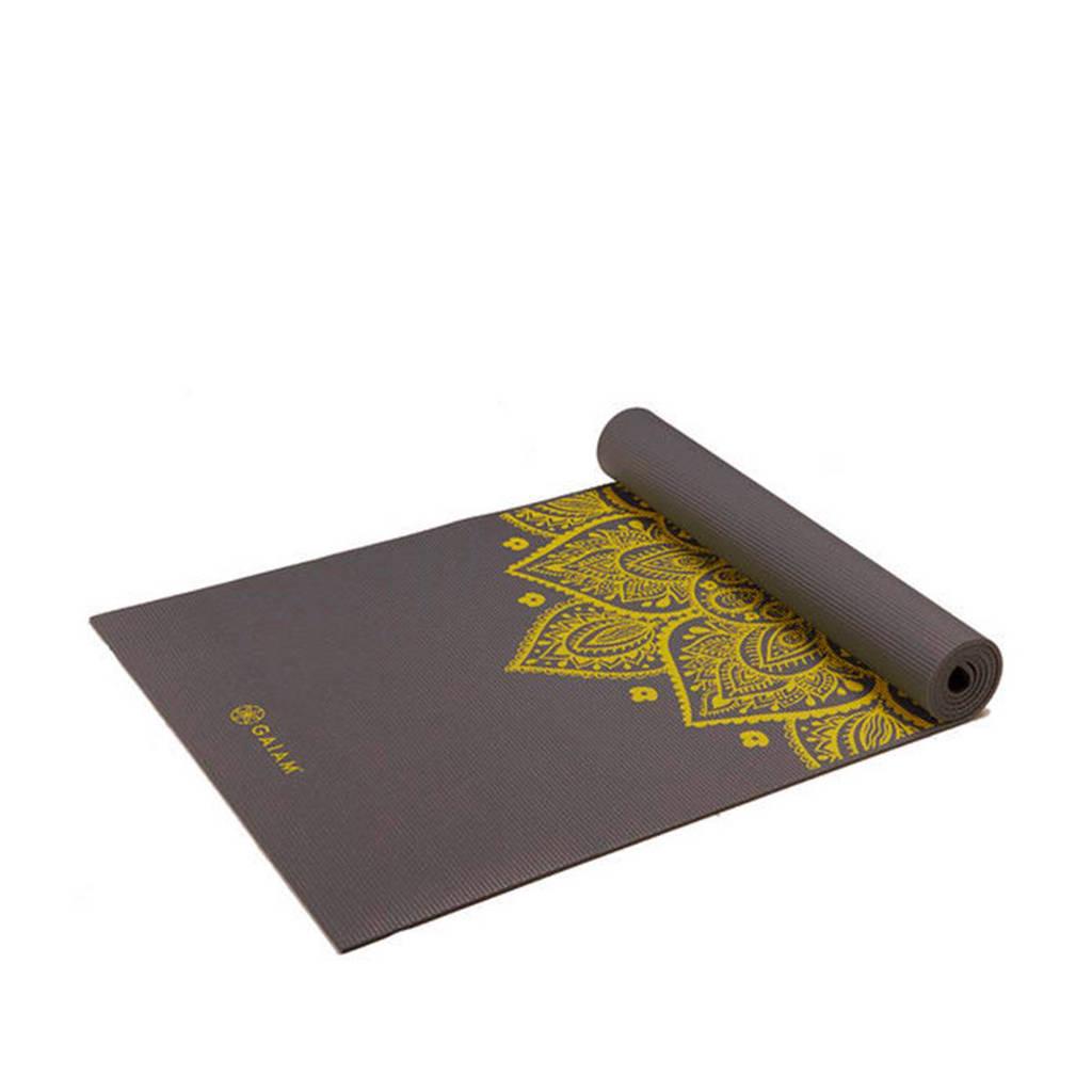 Gaiam citron sundial yoga mat, Grijs