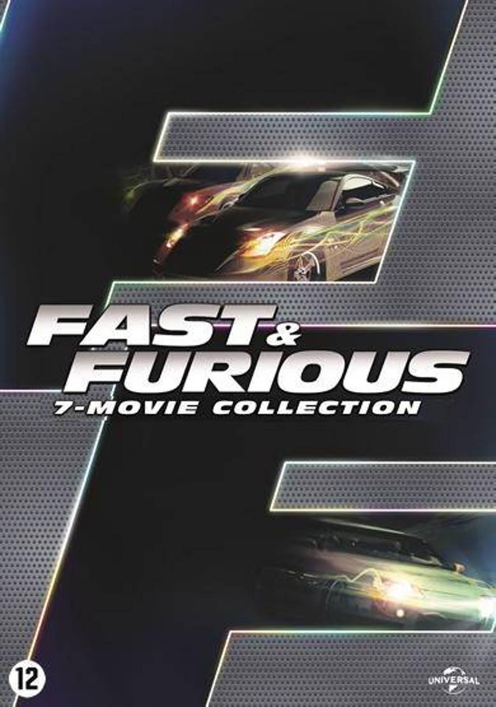Fast & Furious 1-7 (DVD)