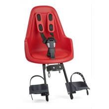ONE Mini fietsstoeltje voor strawberry red