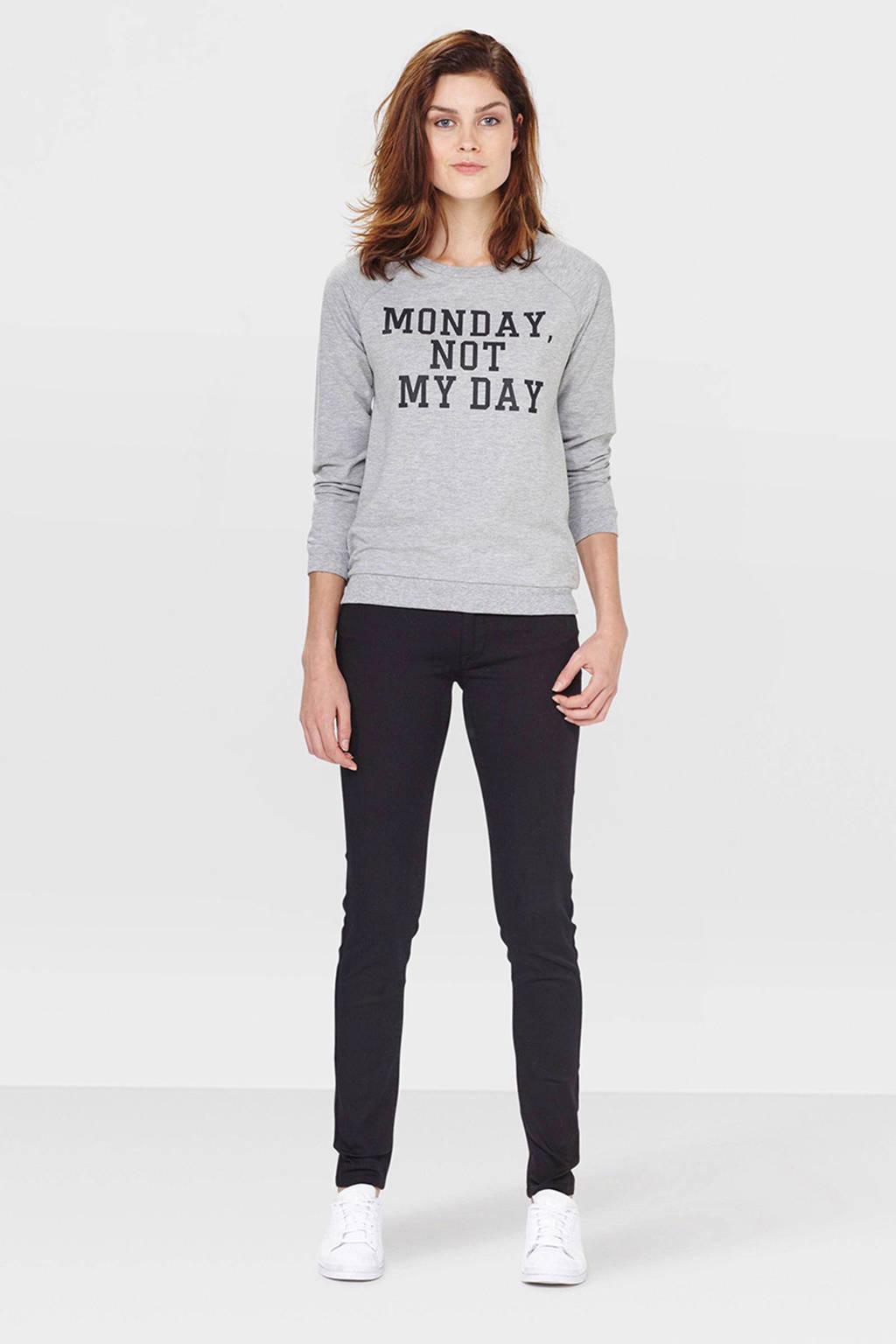 WE Fashion Blue Ridge skinny fit jeans, Black Uni
