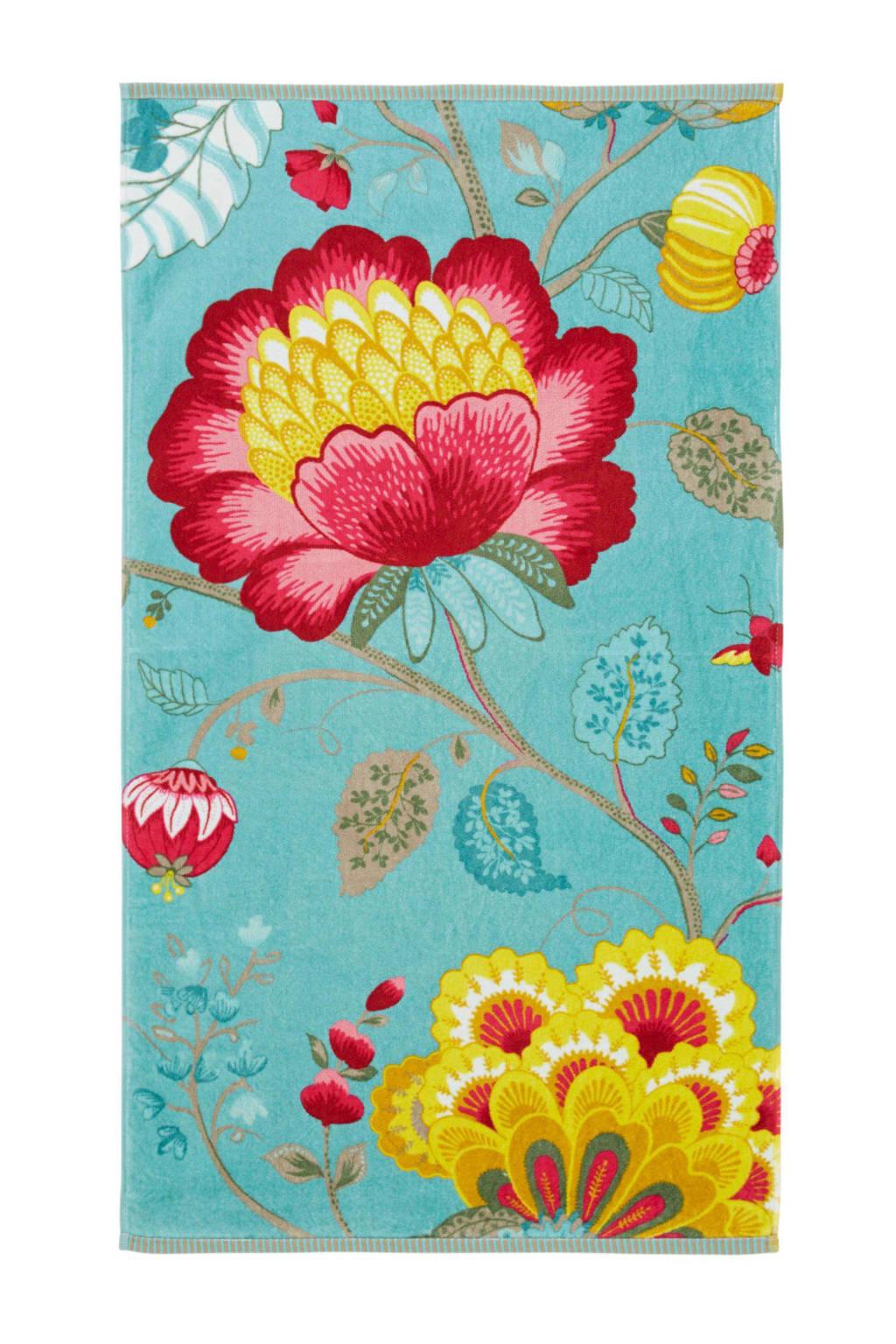 1d613329ebf Pip Studio handdoek Floral Fantasy, petrol multi