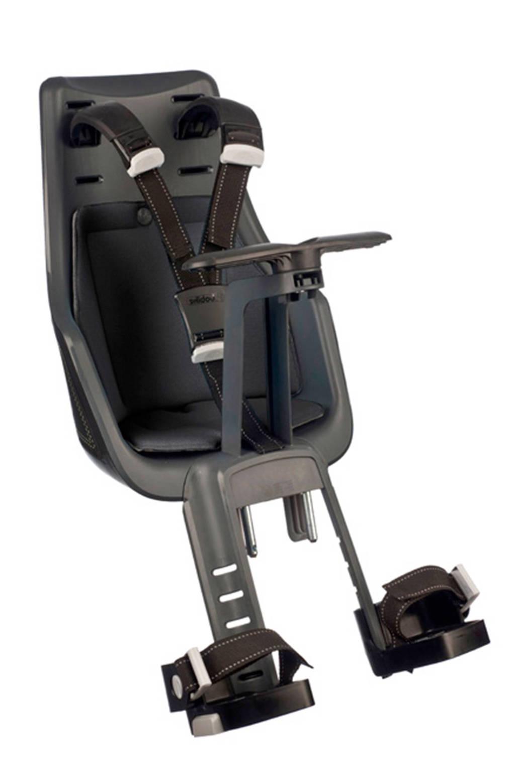Bobike Exclusive Mini fietsstoeltje voor urban black, Urban black