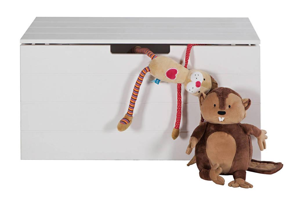 Woood speelgoedkist, Wit