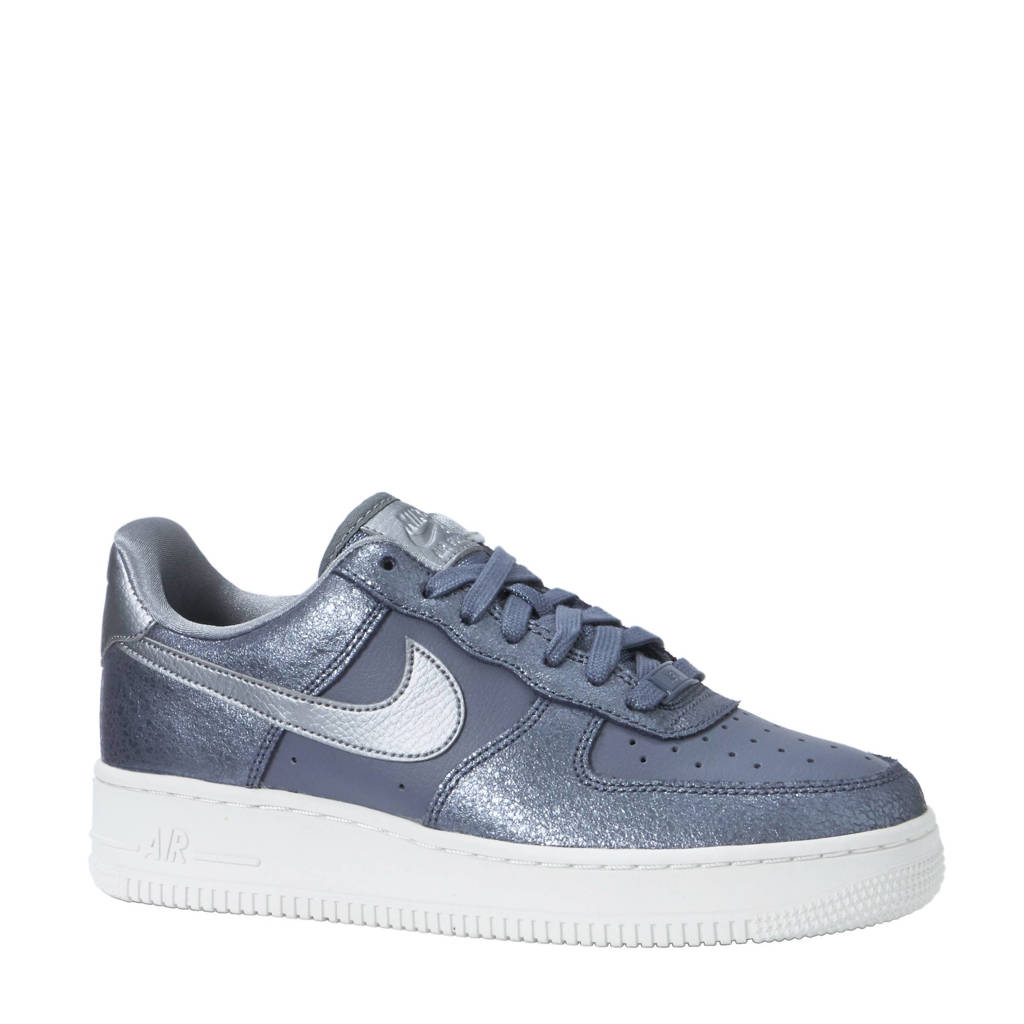Nike Air Force 1 '07 PRM sneakers, Grijs/zilver