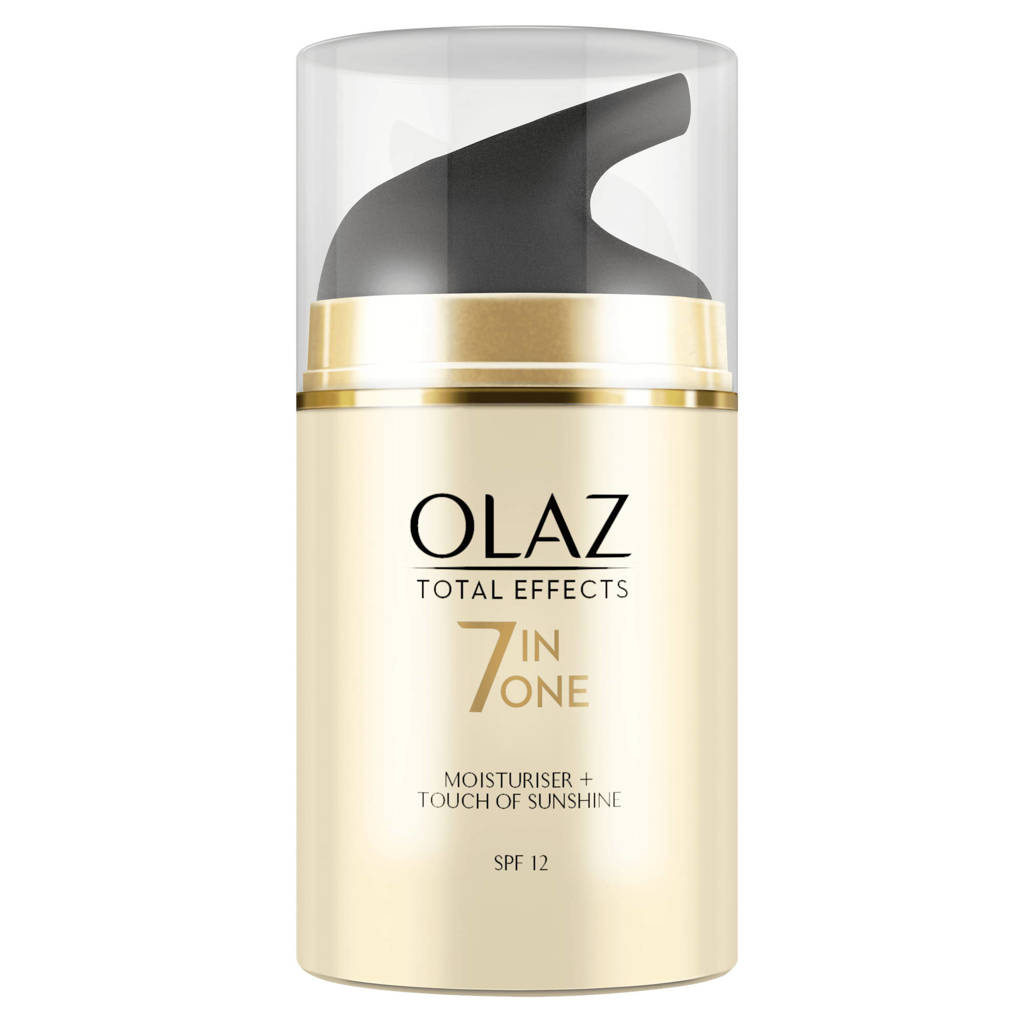 Olay Total Effects 7in1 hydraterende zelfbruinende dagcrème SPF 12 - 50ml