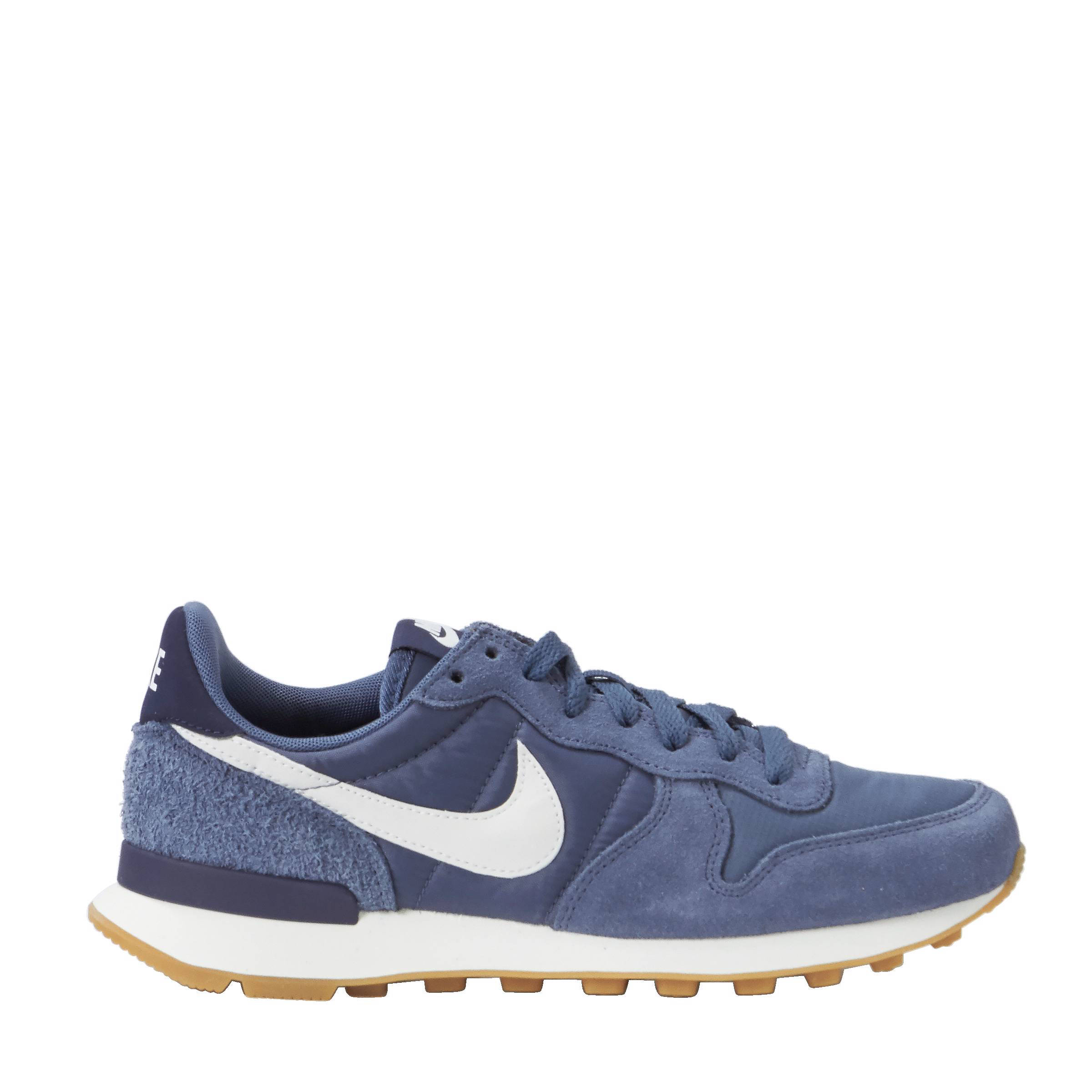 nike internationalist dames blauw