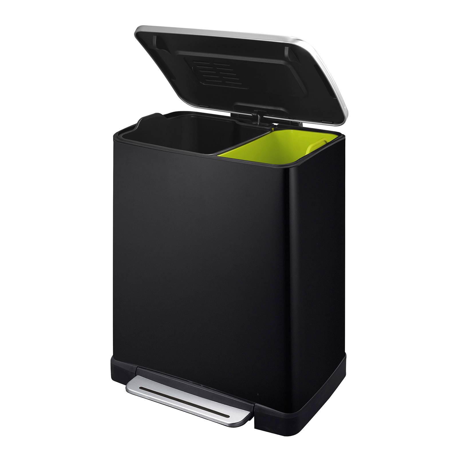 EKO Recyc E-Cube 10+9 liter pedaalemmer