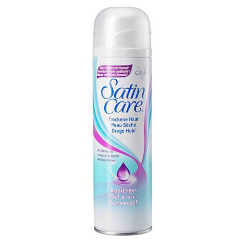 Gillette Women Satin Care Scheergel Dry Skin 200ml