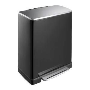 E-Cube 18+28 liter pedaalemmer