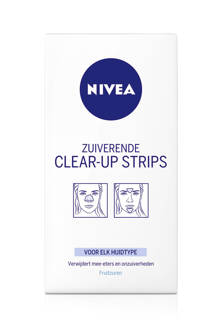 zuiverende clear-up strips - 6 strips
