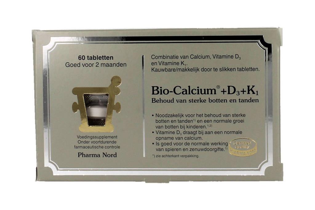 Pharma Nord Bio Calcium+D3+K1 - 60 kauwtabletten