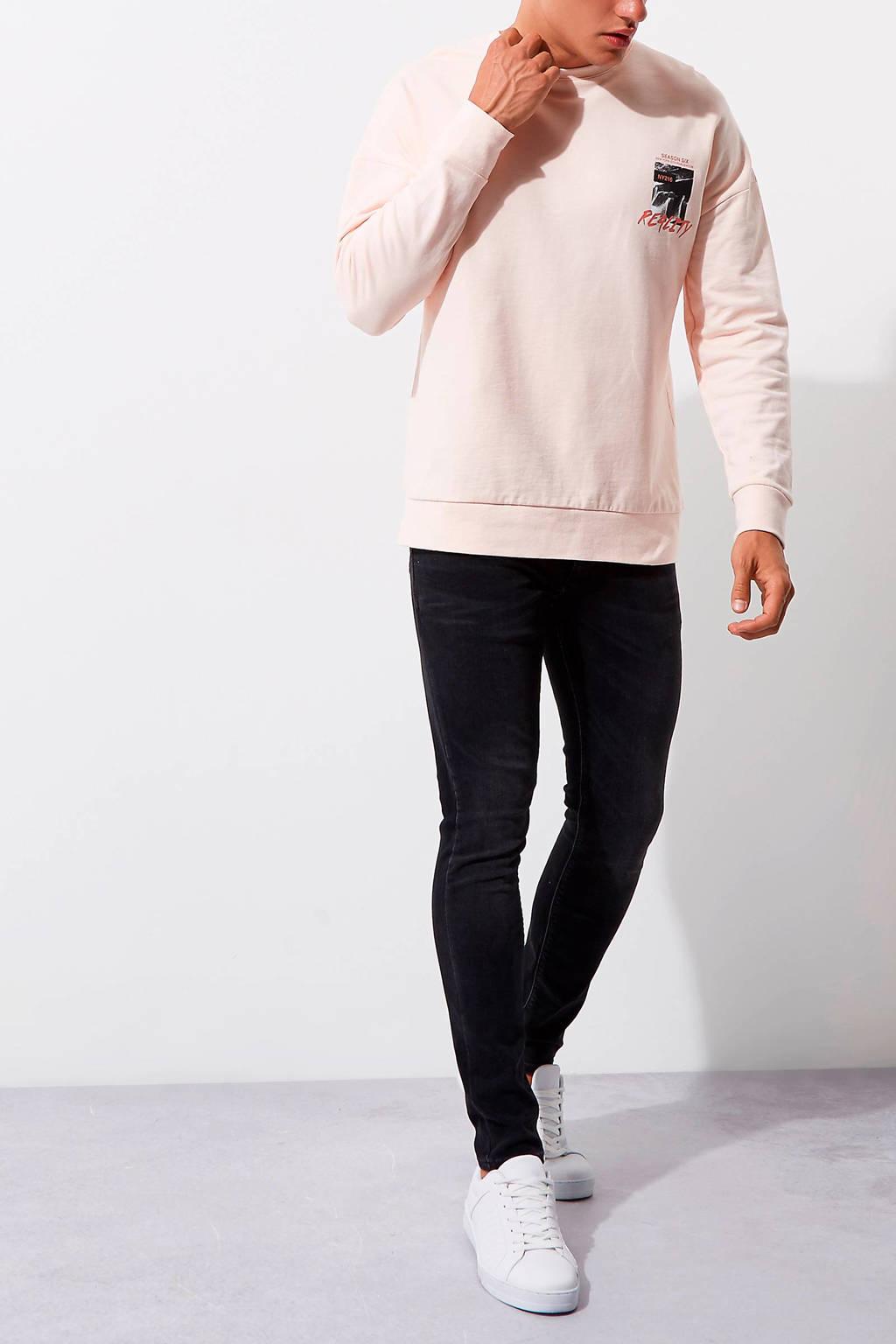 River Island skinny jeans, Zwart