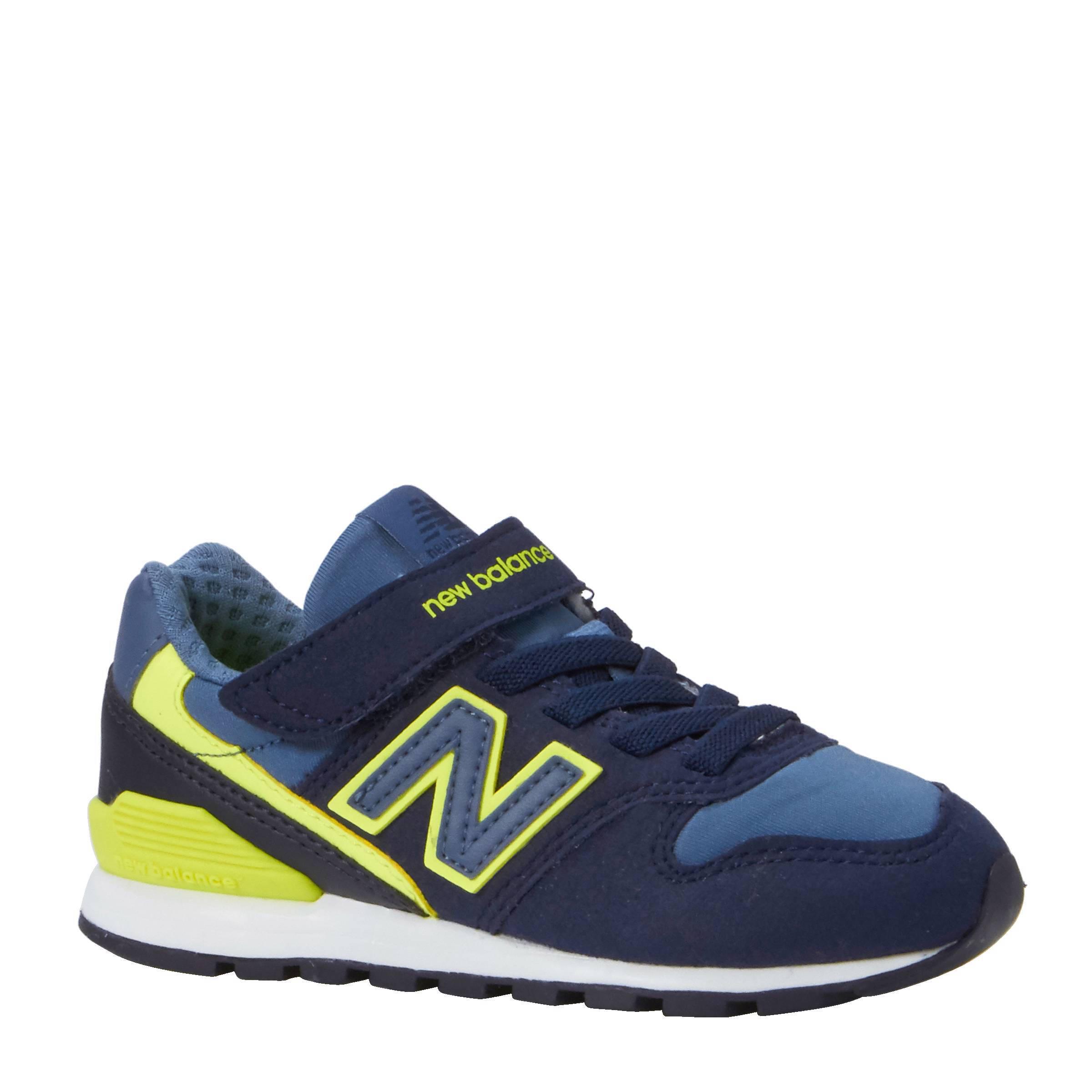 new balance blauw geel