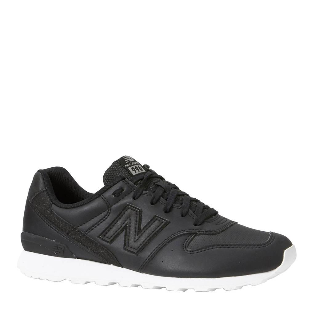 New Balance 996 sneakers, Zwart/wit