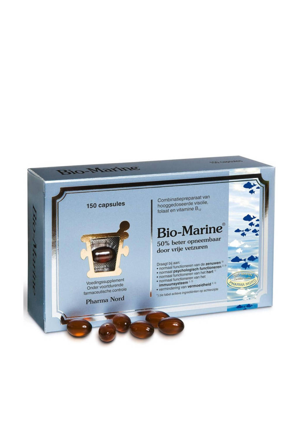 Pharma Nord Bio-Marine visolie - 150 capsules