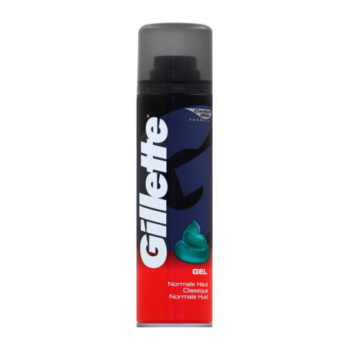 Gillette Basic Scheergel Regular 200ml