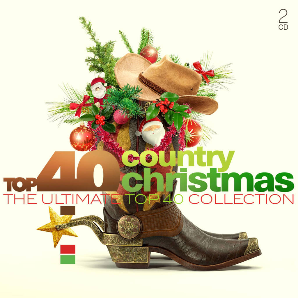 Various - Top 40 - Country Christmas (CD)