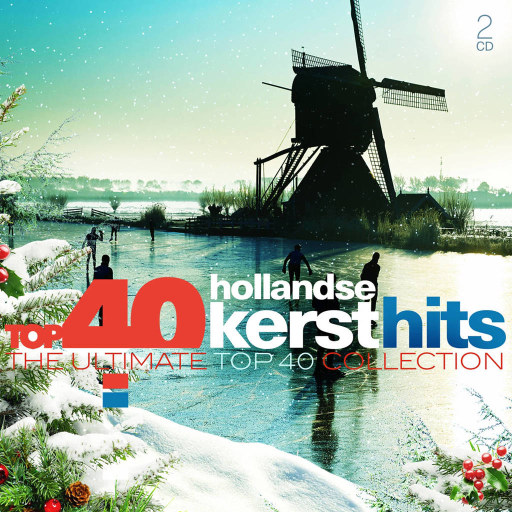 Various - Top 40 - Kerst In Holland (CD)