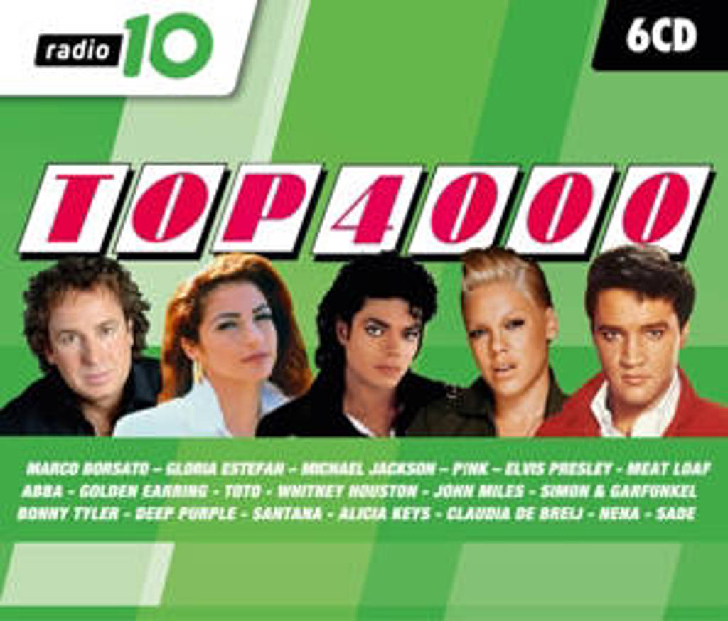 Various - Radio 10 Top 4000 (2017) (CD)